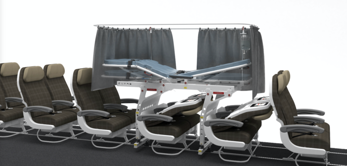 Airline stretcher certified for Boeing 787-10