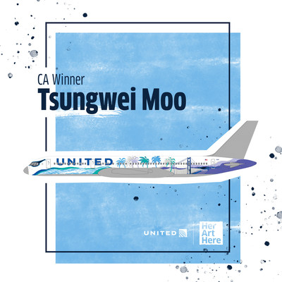 Female artists win the chance to design United B757 liveries