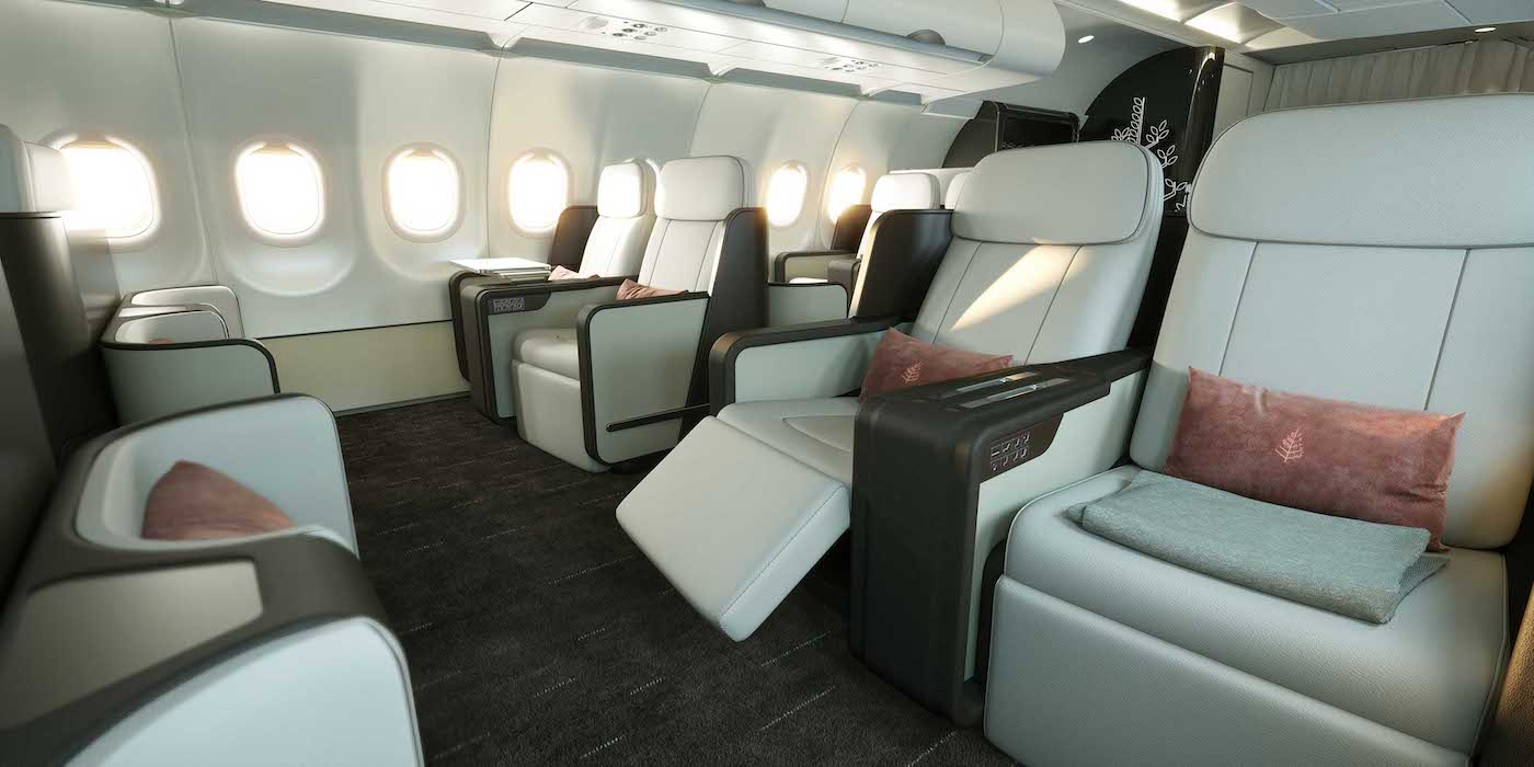 Four Seasons Hotels To Fly Luxury A321lr Aircraft Interiors