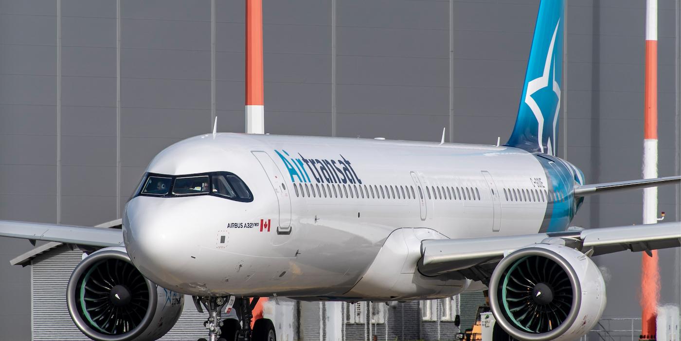 Air Transat Redesigns Cabins For A321neolr Fleet Arrivals Aircraft