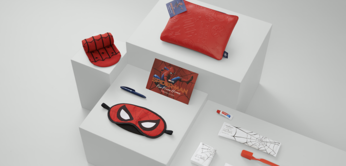 United's Spider-Man: Far From Home amenity kit
