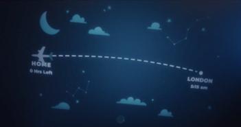 WestJet Flight Light lets kids keep track of their parents flights