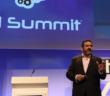 BA CEO Alex Cruz addressing artificial intelligence experts at the AI Summit at London Tech Week