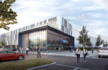 A rendering of GKN Aerospace's Global Technology Centre in Bristol, UK
