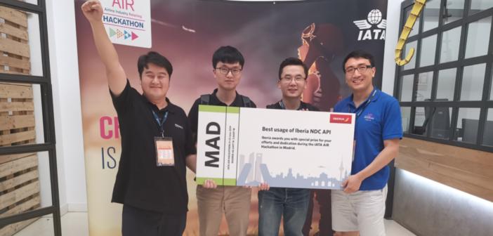 The PKFARE with the IATA Hackathon prize