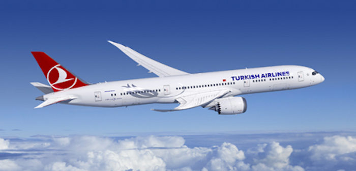a turkish airlines boeing 787
