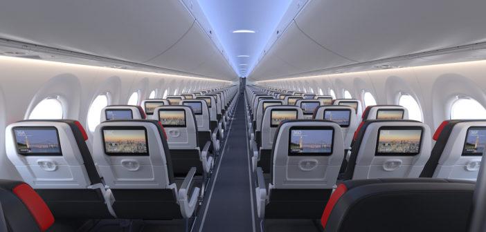 Inside Air Canada's A220-300