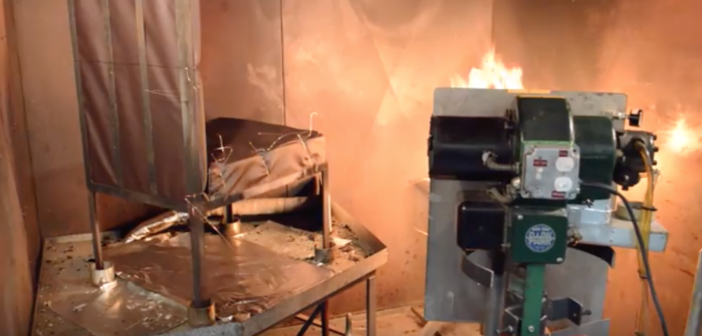 How seat burn tests are conducted