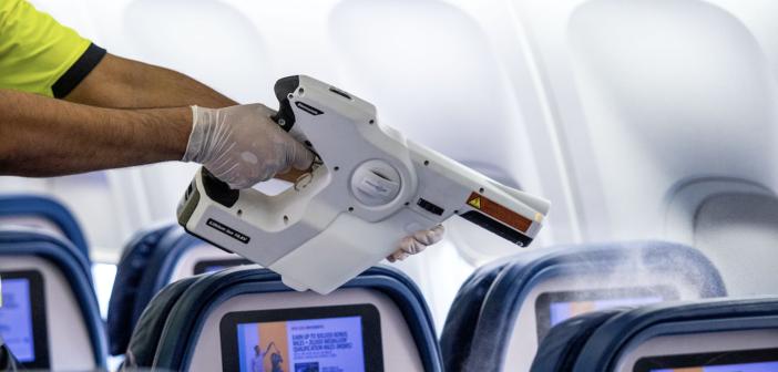 Delta oferece novo padrão de limpeza de companhias aéreas