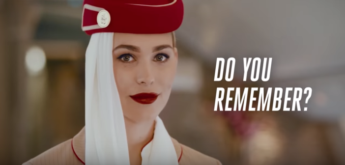 Emirates' 'Do you remember' campaign