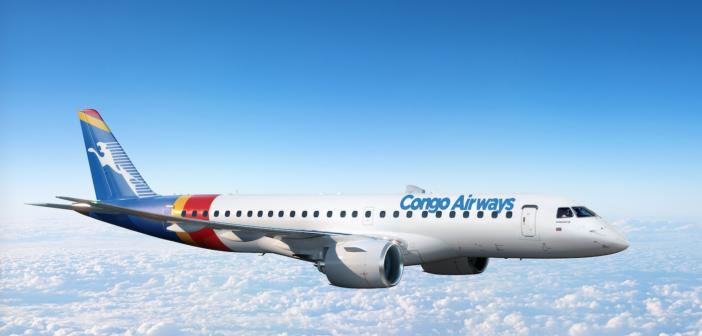 Congo Airways upgrades E175 order for two-class E190-E2s