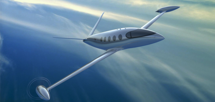 Eviation's Alice aircraft in flight