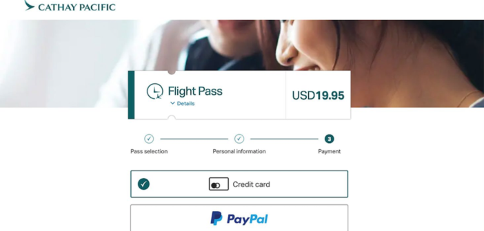 Cathay works with with Deutsche Telekom on inflight wi-fi portal