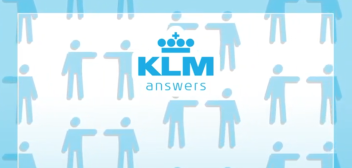KLM Answers: Physical distancing