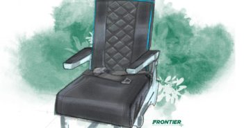 Frontier Airlines has unveiled details of its latest action to reduce the company's environmental footprint with a new aircraft seat design