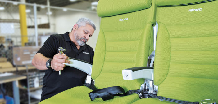 Recaro Aircraft Seating has earned a 2020 Airbus Supplier Support Award