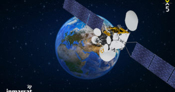 Inmarsat is celebrating the commercial service introduction of its newest and most advanced satellite to date