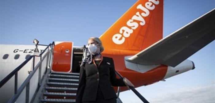 easyJet cabin crew get on board UK's vaccination programme