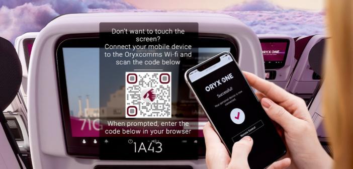 Qatar Airways first to offer 100% touch-free IFE