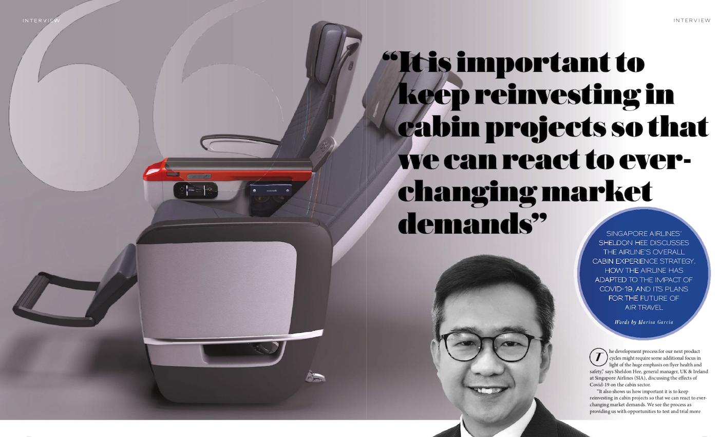 sheldon hee in singapore airlines premium economy class