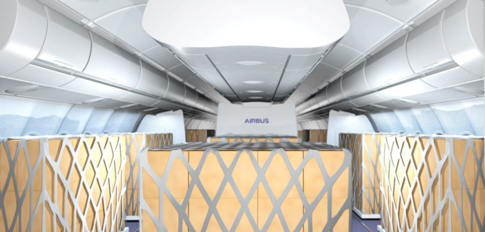 Airbus and Lufthansa Technik co-develop cabin cargo kits