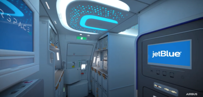 JetBlue discusses its A321LR Airspace cabin