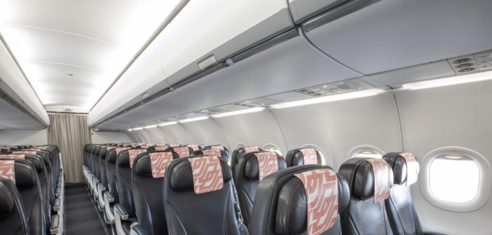 Air France A320 flies with first Safran ECOS bins