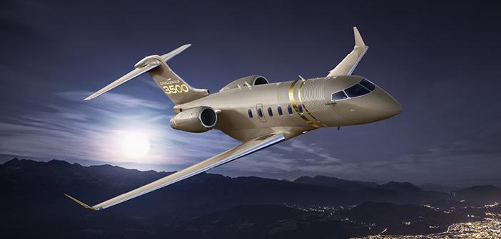 Bombardier reveals the super-midsize Challenger 3500