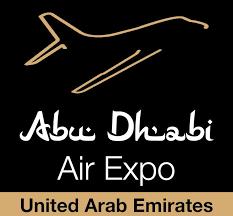 abu dhabi air expo 2022 logo